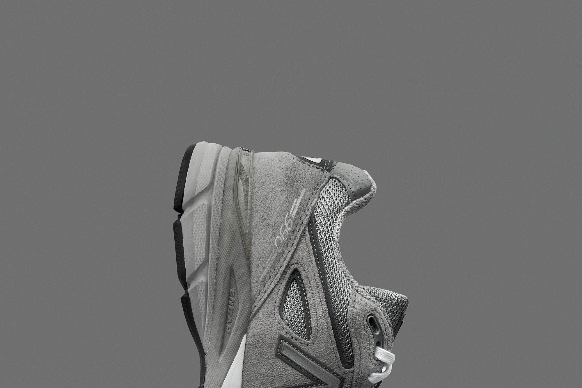 packshot photography of the new balance 990v4 photographed for new balance south africa