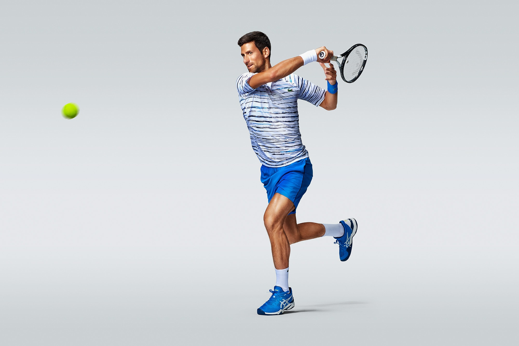 asics tennis campaign of world number one novak djokovic